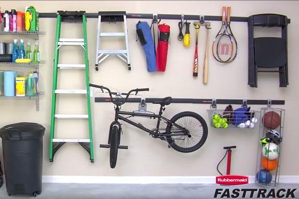 Cooler Hook Rubbermaid FastTrack Garage Lot of 2