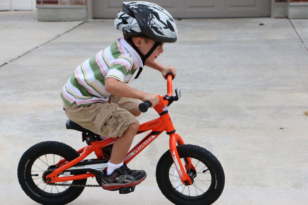 child riding the specialized riprock bike