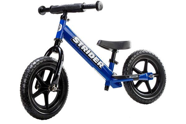 Strider Sport Balance bike in blue