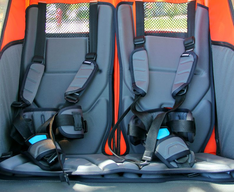 Extra padding inside Thule Chariot Cross Double