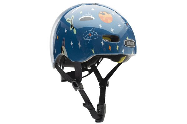 spaced themed nutcase baby nutty kids bike helmet