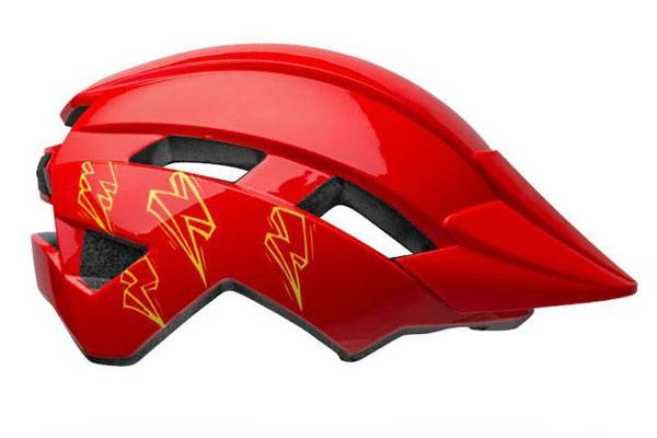 Bell Sidetrack 2 kid's helmet in red