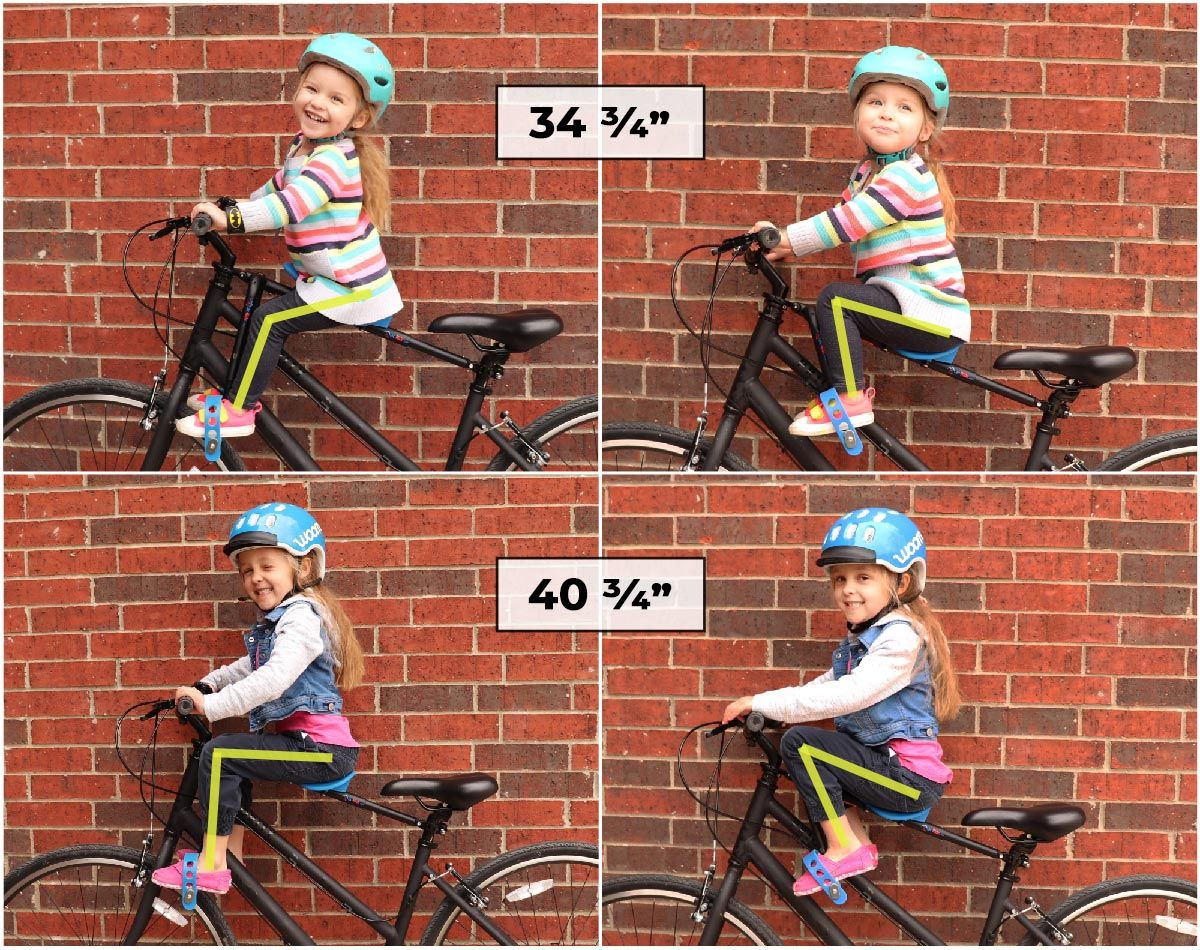 Mac Ride Customizable to different sized children adjustable stirrups and angles