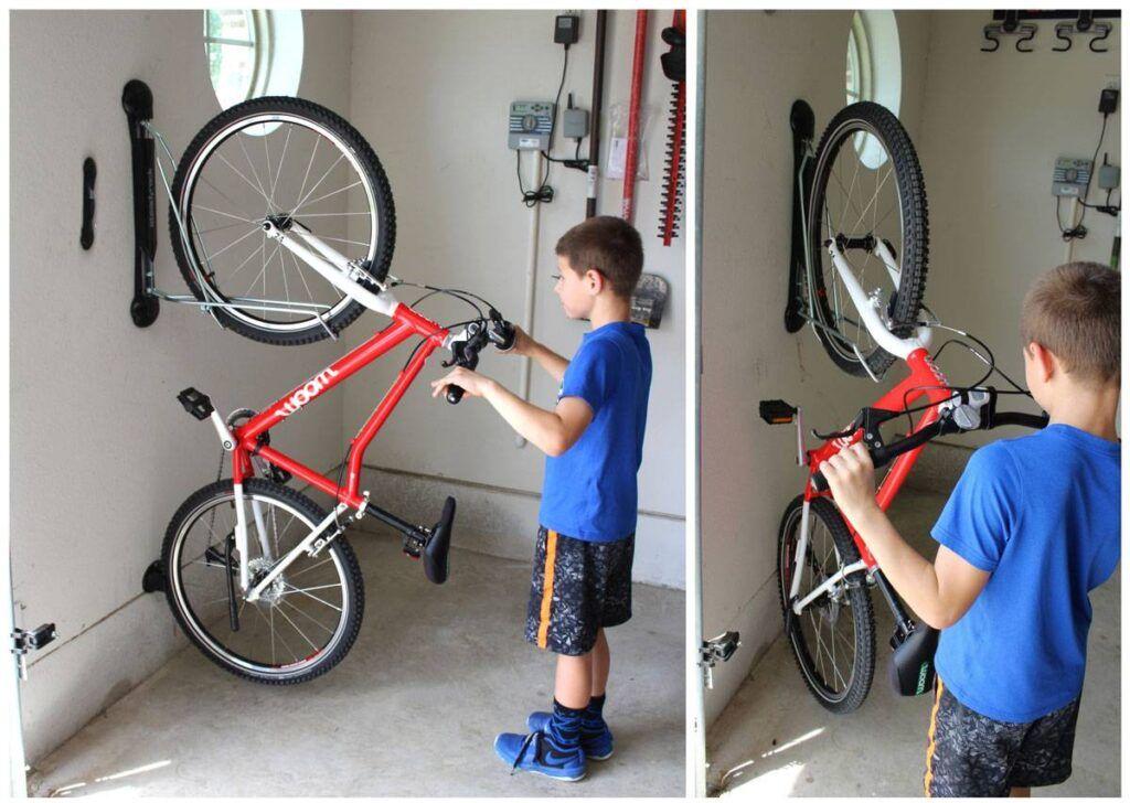 15 Practical Bike Storage Ideas For, Garage Bike Storage Hanging