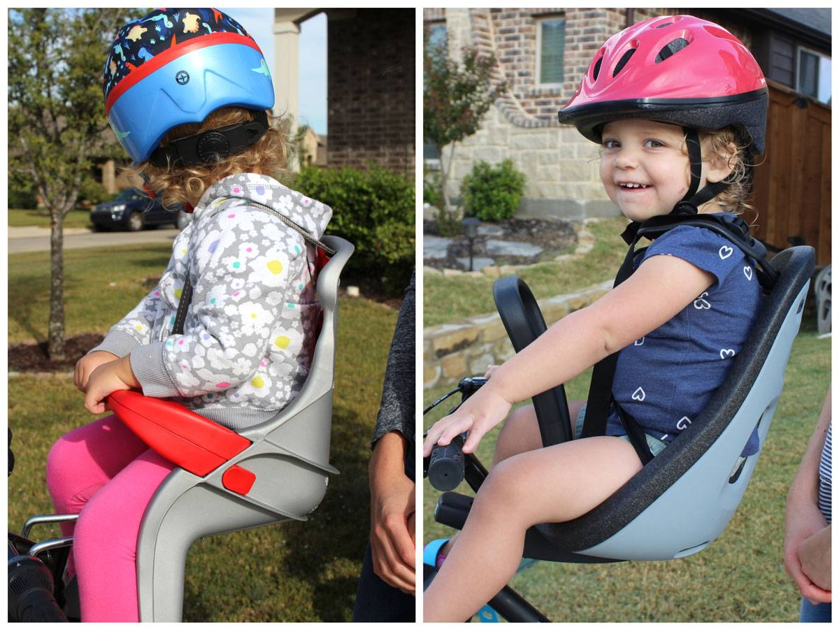 24 month old in Peg Perego Orion seat vs Thule Yepp Nexxt Mini