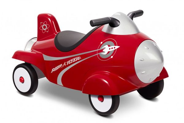Radio Flyer Retro Rocket Ride-on Toy