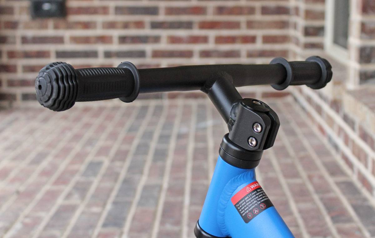 Swagtron K3 balance bike headset and handlebars