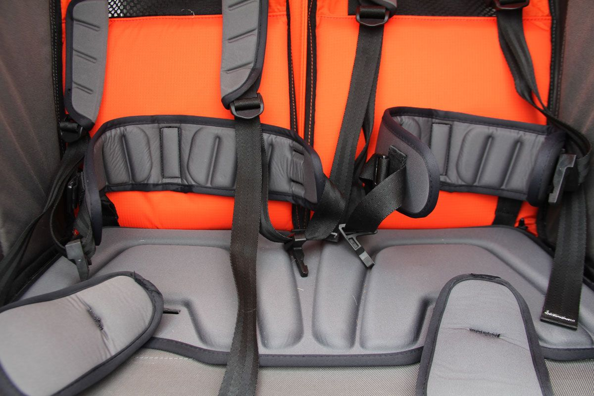 Padding on Thule Chariot Cross
