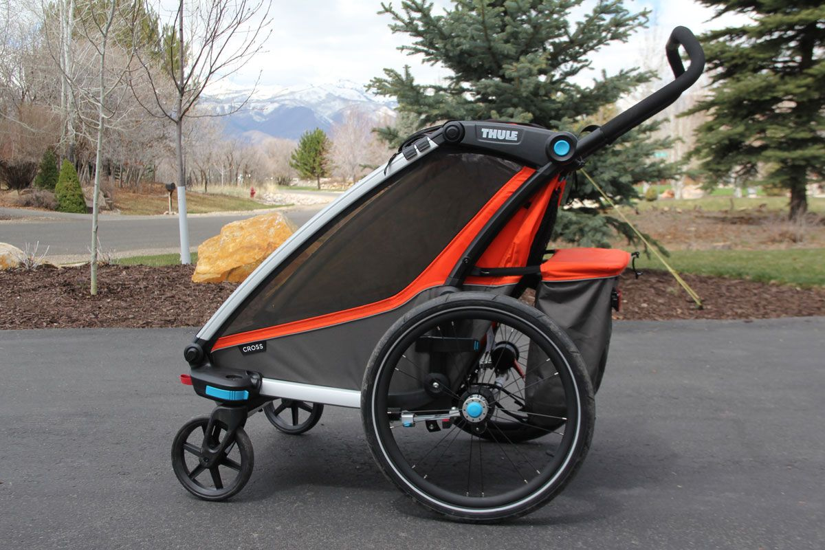 Thule Chariot Cross double as a stroller