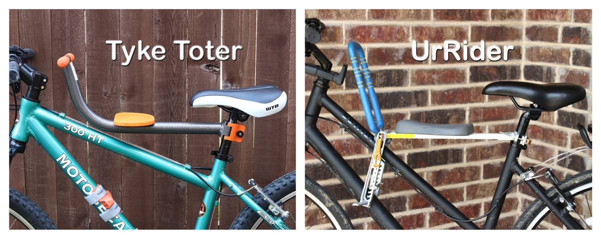 Side by side side shots of the Tyke Toter and UrRider