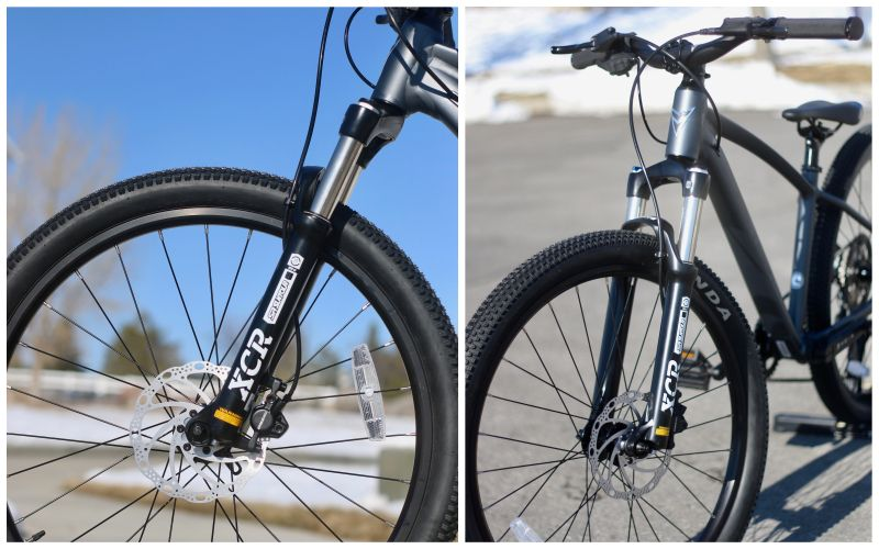 prevelo zulu four with suntour xcr 24 air suspension