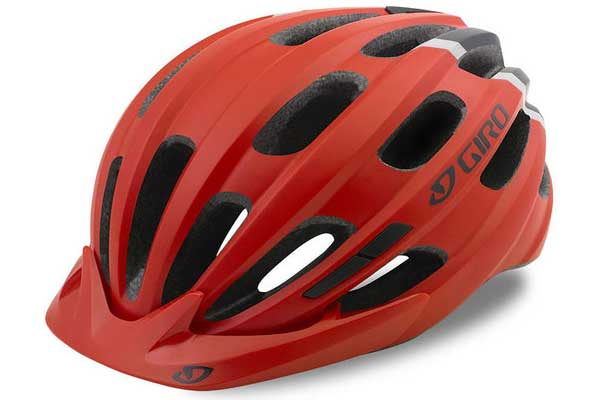 Giro Hale Youth Helmet in red and black