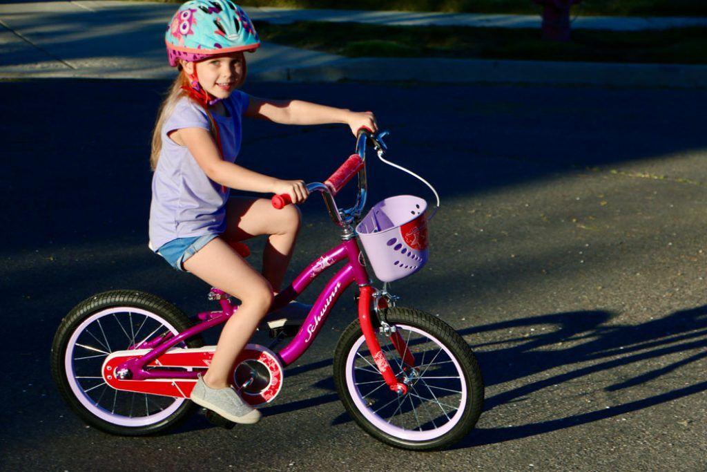 Purple Llama 16 inch Wheel 9 Inch Frame Size Kids Bike
