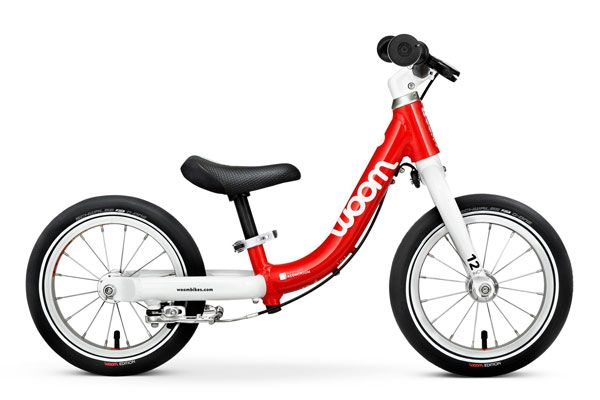 woom 1 balance bike in red. 2019 model.