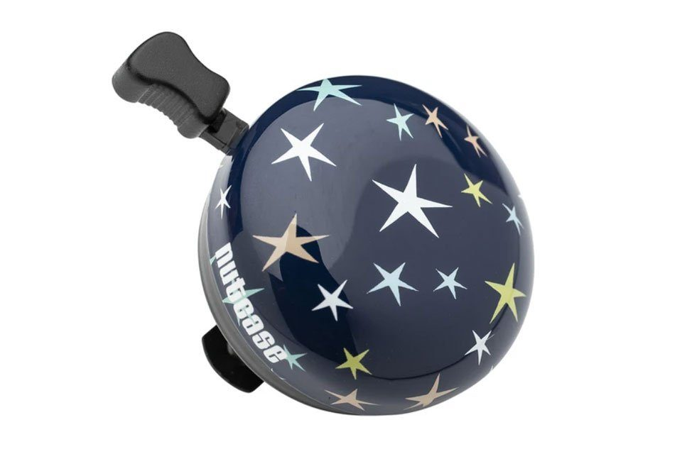 Nutcase bike bell with star pattern