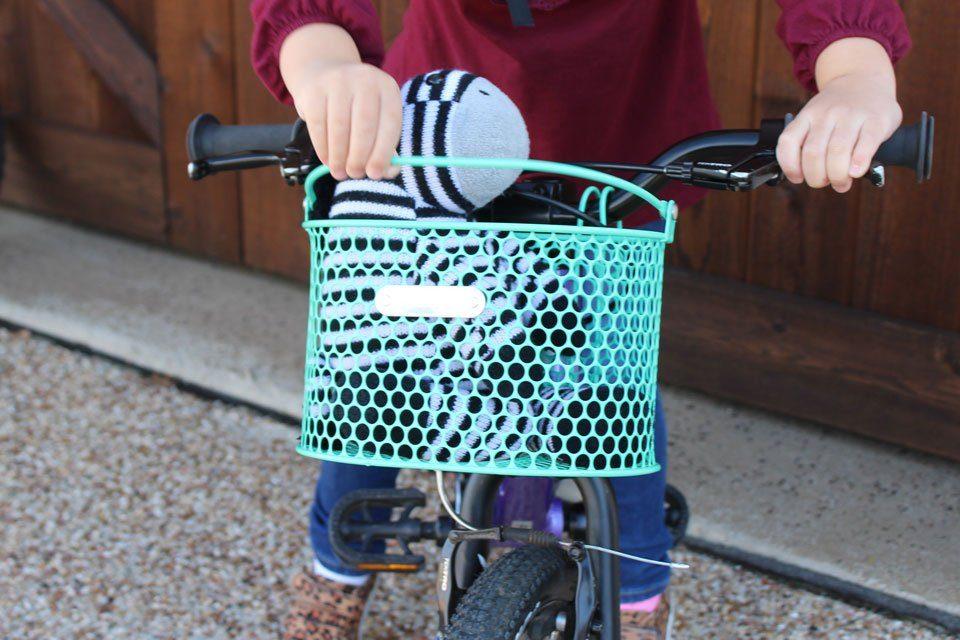 Oxford Junior Girls Bicycle//Bike Woven Plastic Basket /& Straps│Lilac│BK140L