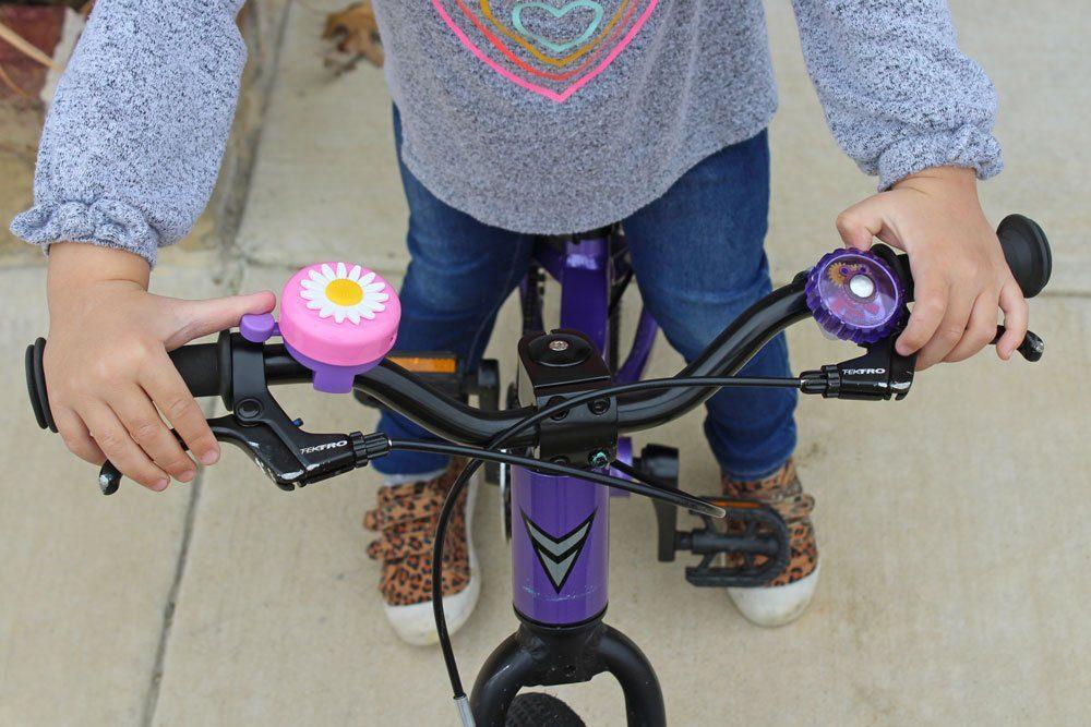 2x Kids Bike Cycling Bell Mini Bell Small Boy Ring Bell Bicycle Cup random cJJO